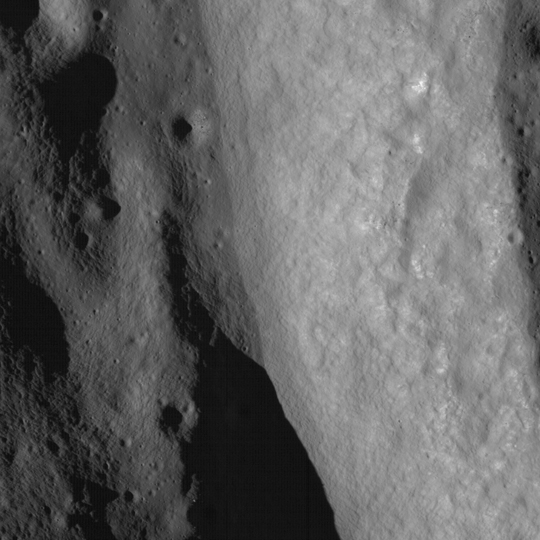LROC image of the lunar surface