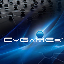 Artwork showing the word CyGaMEs