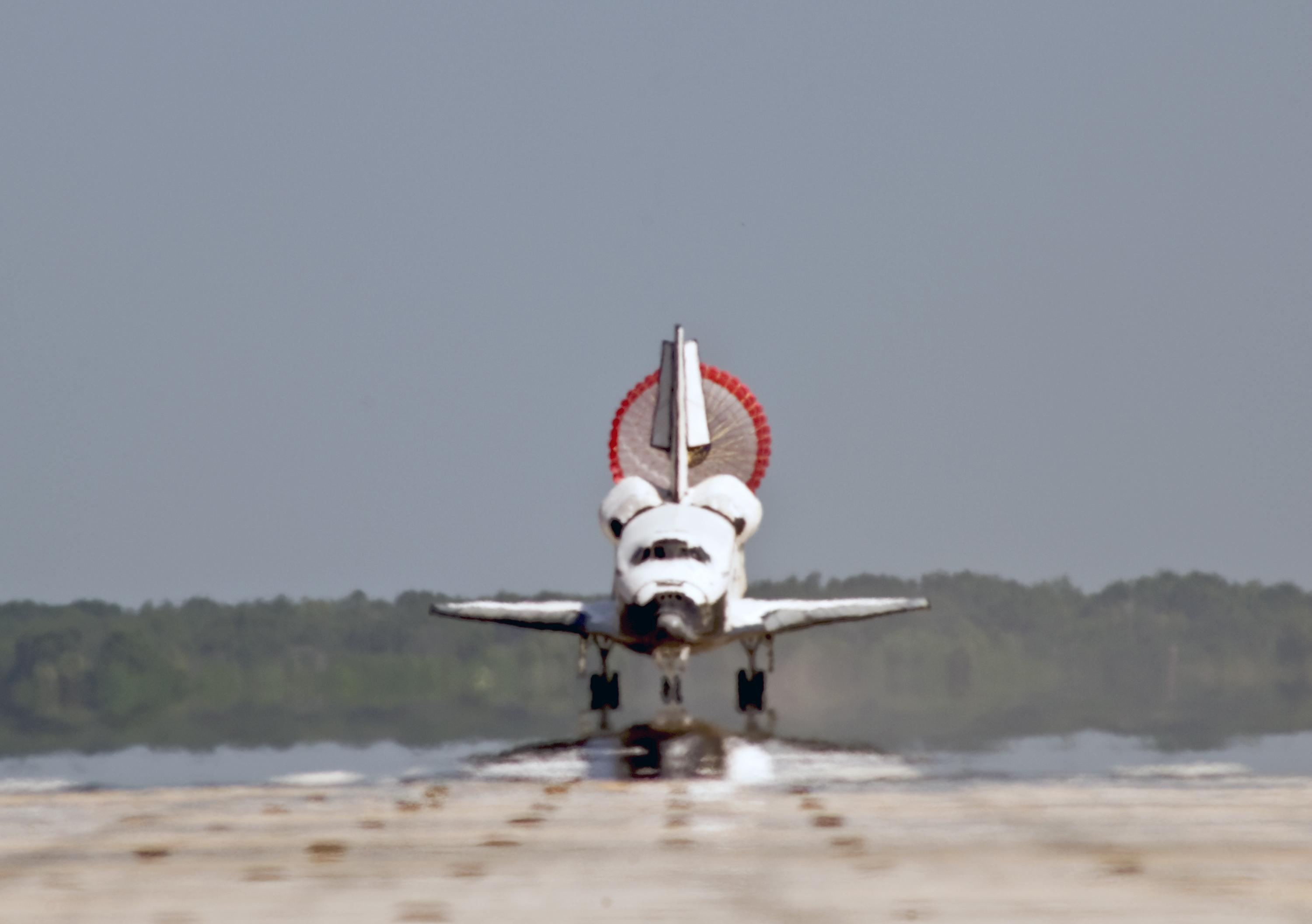space shuttle landing explained - photo #23