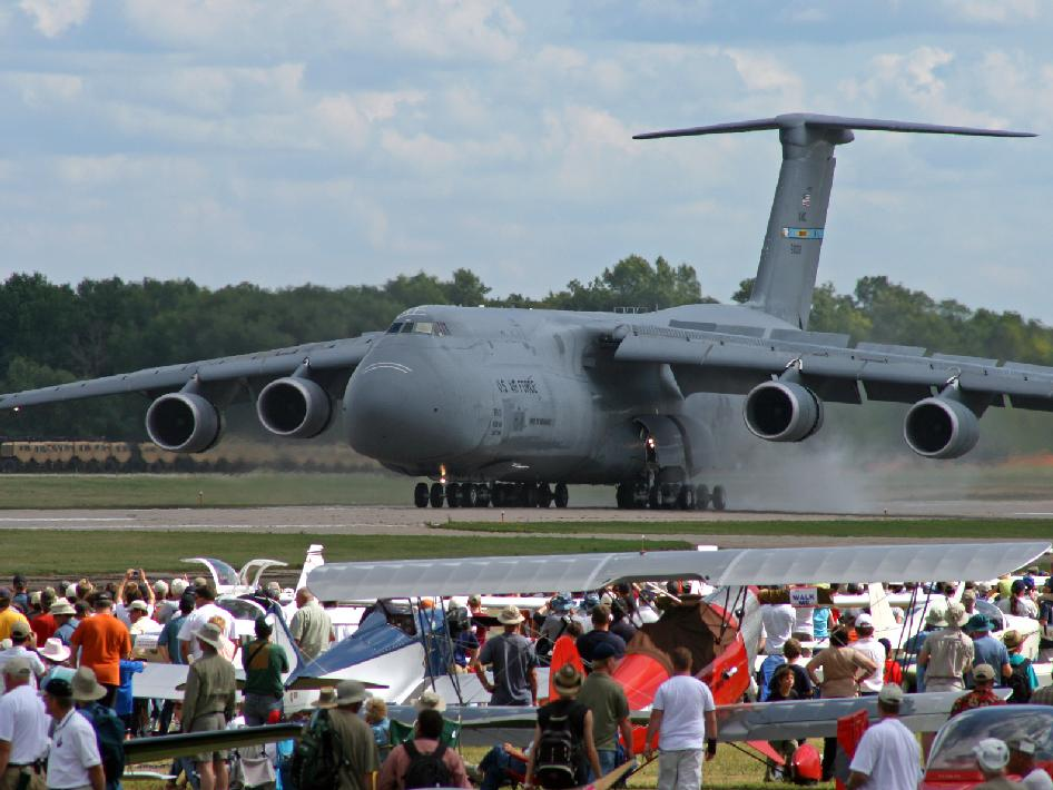 C-5 at EAA AirVenture 2009