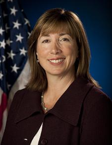 Deputy Administrator Lori B. Garver. Credit: NASA/Bill Ingalls