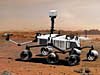 Artist's concept of the Mars Science Laboratory rover