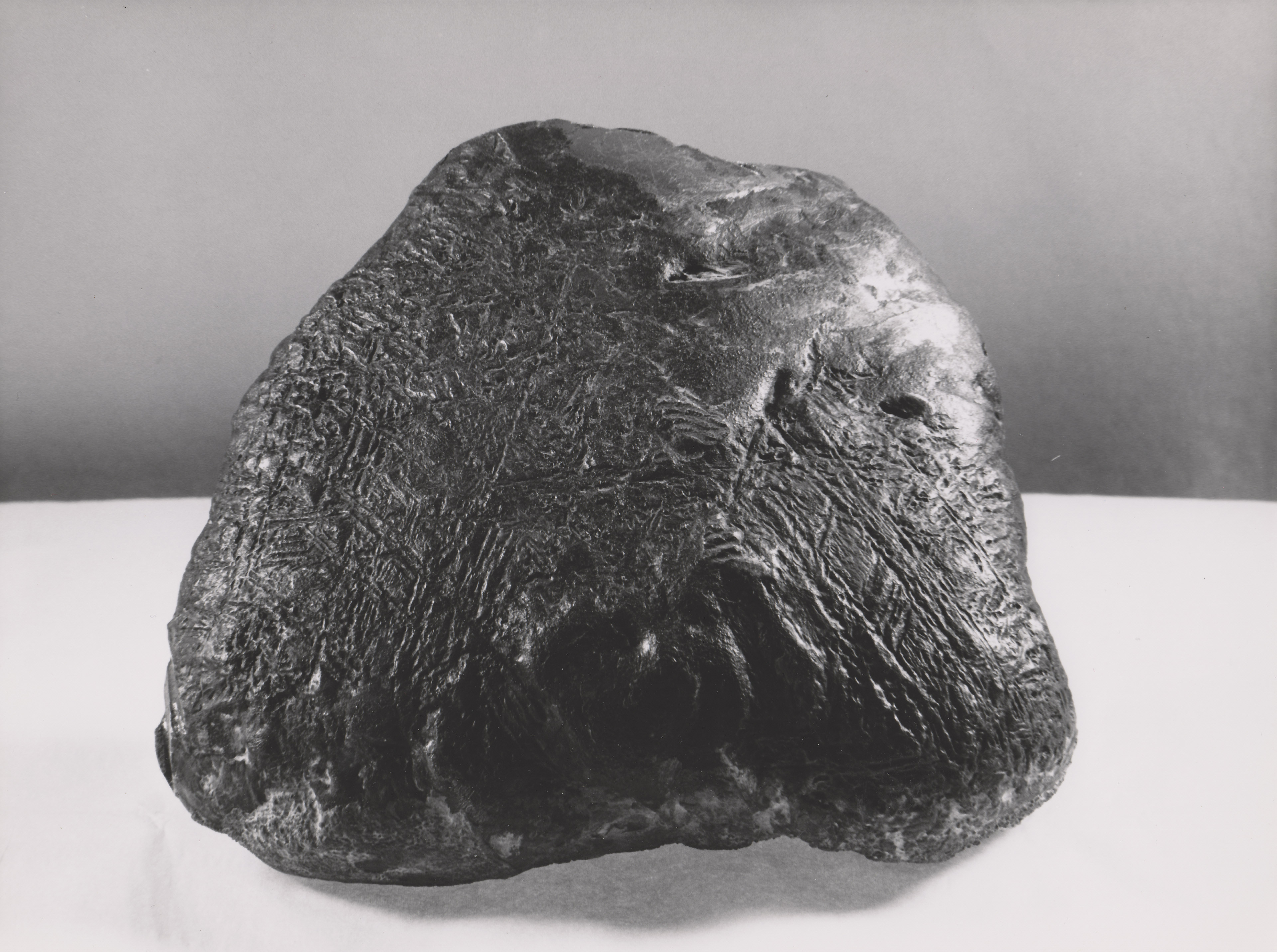 NASA - Iron-Nickel Meteorite from Texas with Triangle ...