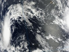 Tropical Depression 2 on August 12 showed a good round circulation.
