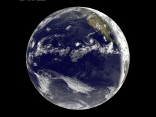GOES-11 captured all four tropical areas in the Pacific on August 13 at 8 a.m. EDT.