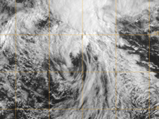 GOES image of Guillermo on August 18, 2009