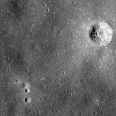LROC image of the Apollo 14 landing site