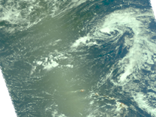 AIRS image of Guillermo