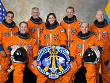 sts128-s-002 -- The STS-128 crew portrait