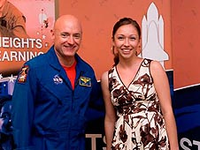 Astronaut Scott Kelly and Heather Makarewicz