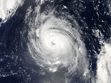 Aqua satellite captured Typhoon Vamco on August 24.