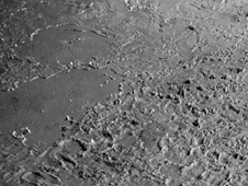 volcanic plains of Neptune's moon Triton