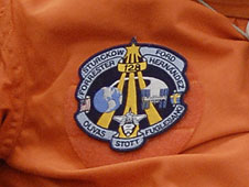 The STS-128 patch
