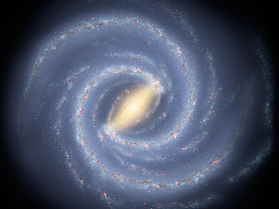 Ученые сфотографировали миллиард звезд Млечного Пути