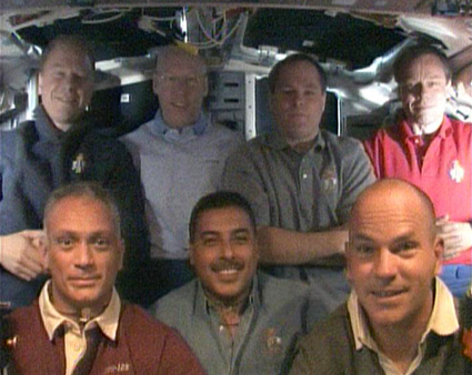 The STS-128 crew
