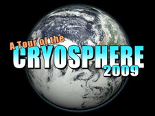 A Tour of the Cryosphere 2009 title