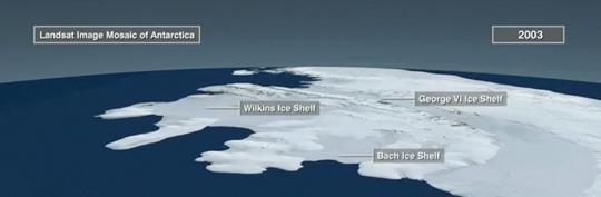 LIMA image of Antarctica