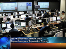 HTV Operations Control Center - Japan Aerospace Exploration Agency