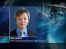 Dai Asoh -- HTV Lead Attached Phase Flight Director