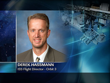 Derek Hassmann -- ISS Flight Director - Orbit 3