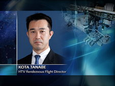 Kota Tanabe -- HTV Rendezvous Flight Director