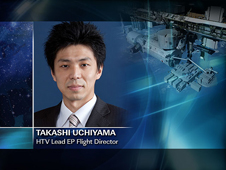 Takashi Uchiyama -- HTV Lead EP Flight Director
