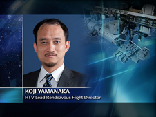 Koji Yamanaka -- HTV Lead Rendezvous Flight Director
