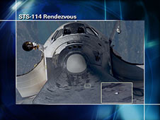 STS-114 Rendezvous