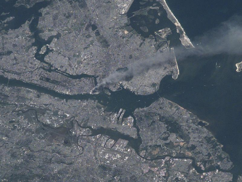 September 11 From Space Station