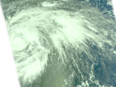 NASA's AIRS instrument captured this impressive image of Typhoon Choi-Wan on September 14 at 11:05 p.m. EDT.