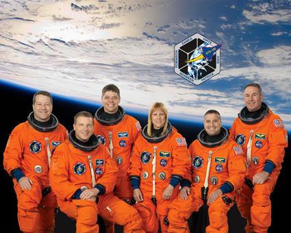 STS130-S-002 -- STS-130 crew portrait