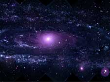 This mosaic of M31 merges 330 individual images taken by the Ultraviolet Optical Telescope aboard NASA's Swift spacecraft.