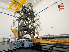 James Webb Space Telescope simulator