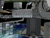 A screenshot from the game showing the exterior of the space station