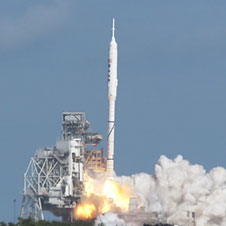 Ares liftoff