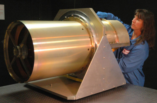 The 40 cm diameter WISE telescope.
