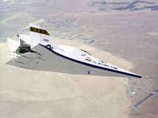 The X-24B aircraft.