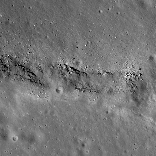 LRO image of Aratus
