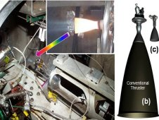 Divert and Attitude Control System, or DACS, thruster comparison