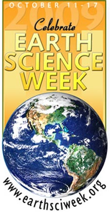Celebrate Earth Science Week logo