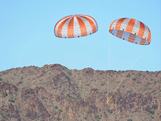 Orion main parachute test demo