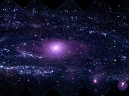 Andromeda in Ultraviolet