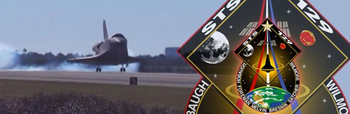 STS-129 image. Image credit: NASA