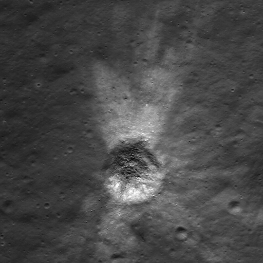 crater image from LROC