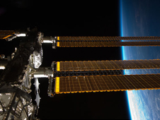 ISS020-E-005810 -- A portion of the International Space Station