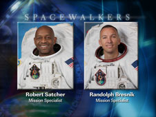 EVA 3 spacewalkers