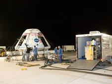 JSC2009-E-219005 -- Functional tests of Orion crew module