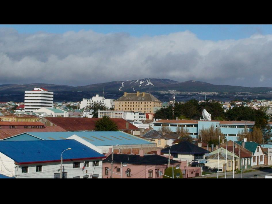 Punta Arenas, Chile, is where Operation Ice Bridge's Antarctic campaign is based.