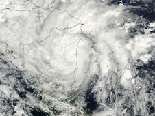 Thursday, November 5 at 16:05 UTC when Ida was a hurricane over Nicaragua.
