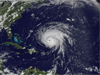 satellite image of Hurricane Bill